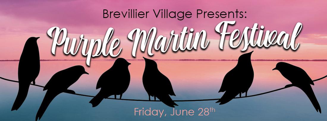 6/28 – Purple Martin Festival